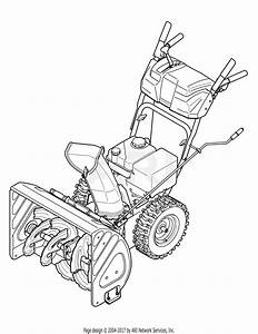 Troy Bilt 31as62n2711 Storm 2410  2011  Parts Diagram For  Quick Reference Storm 2410