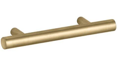brushed gold cabinet pulls kohler k 14485 bgd purist 3 inch drawer pull vibrant