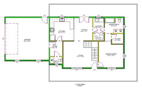 Autocad House Plans Floor  Architecture Plans  #41788