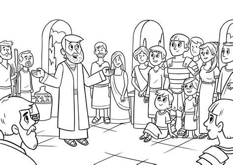 coloring pages peter  cornelius coloring pages