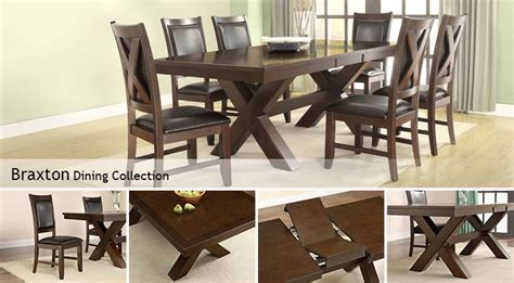 Costco Home Decor 0517 : Braxton Dining Collection
