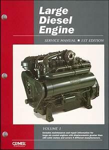 Large Diesel Engine Service And Repair Manual By Intertec
