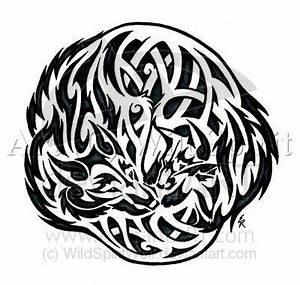 Tatouage Loup Celtique : tatouage de loup rond grav sur la peau tatouage tatouage loup et tatouage viking ~ Farleysfitness.com Idées de Décoration