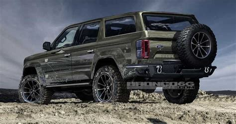 2020 Ford Bronco Interior (new, 4 Door And Specs) Carfoss