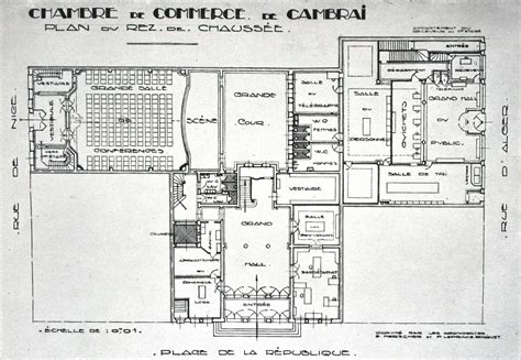 chambre de commerce cambrai la chambre de commerce de cambrai vitrine de la