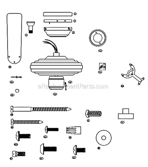 Hunter 23775 Parts List And Diagram Ereplacementpartscom