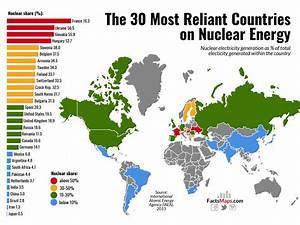 The 30 Most Reliant Countries on Nuclear Energy - FactsMaps