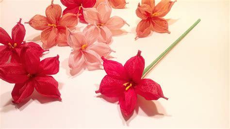 flor de papel de seda flor de papel de seda o cresp 243 n