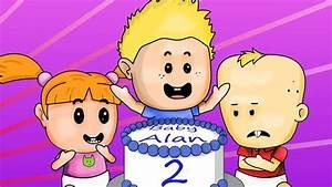 Baby Alan Cartoon  U0026quot Birthday Party Disaster U0026quot  Season 1