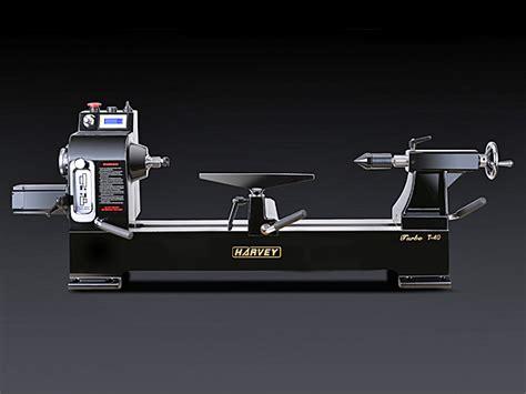 harvey industries turbo  wood lathe servo