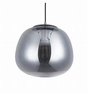 Suspension Luminaire En Verre Transparent : luminaire verre fum noire achat de lampe en verre echoes ~ Teatrodelosmanantiales.com Idées de Décoration