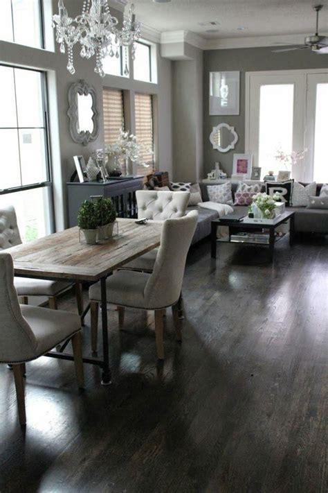 decoracion de comedor  sala juntos en espacios pequenos