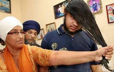 Not cutting one's hair is a symbol of one's wish to move beyond concerns of the body and attain spiritual maturity. YOU, ME AND US: Cutting Of Sikh Boy's Hair- The Star 19.1.2011
