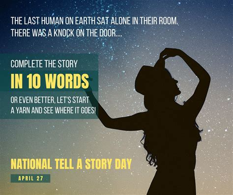 National Tell a Story Day in USA in 2022 | There is a Day for that!