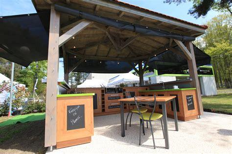 meuble garde manger cuisine cuisine extérieure pool house