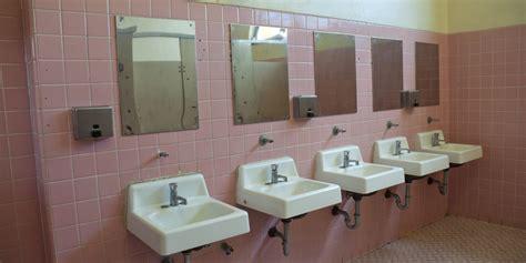 gender neutral bathrooms  quietly