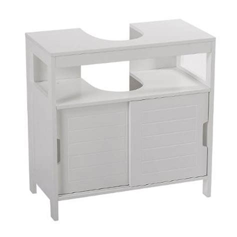 meuble sous lavabo quot aqua quot 60cm blanc