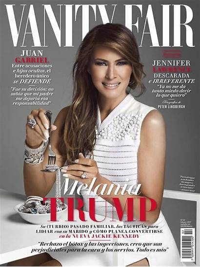Melania Trump Vanity Fair Eating Daily York