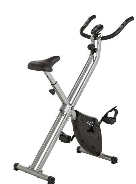 Opti Folding Magnetic Exercise Bike - FitnessGeek