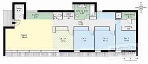 maison de plain pied contemporaine detail du plan de With des plans pour maison 0 maison bretonne detail du plan de maison bretonne