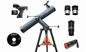 Cassini 800x80mm Reflector Telescope with Tracking Mount ...