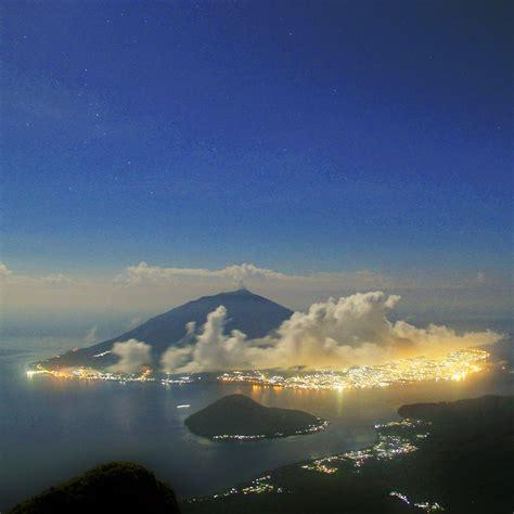 wisata  indonesia mendaki puncak kie matubu gunung