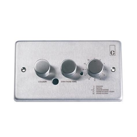 wall mounted dmx controller lighting controls dmxc wm 01