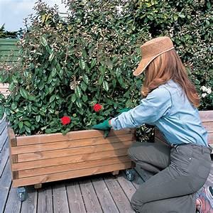 Jardiniere Sur Roulette : installer des roullettes sur une jardini re ~ Farleysfitness.com Idées de Décoration