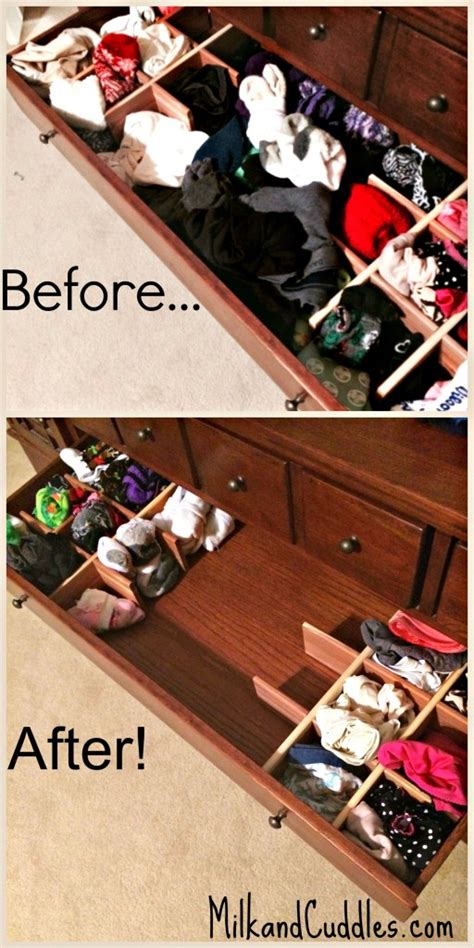 Declutter Your Sock & Underwear Drawers!  Everyday Best
