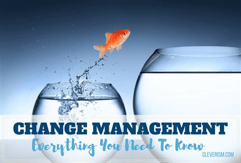Change Management Everything You Need To Know