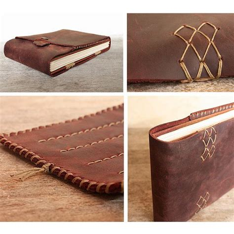 cuero journals leather artist journal refillable art book and pencil