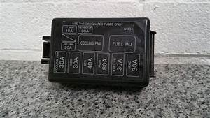 Mazda Mx5 Eunos Mk1 1993 - 97 Fuse Box Cover