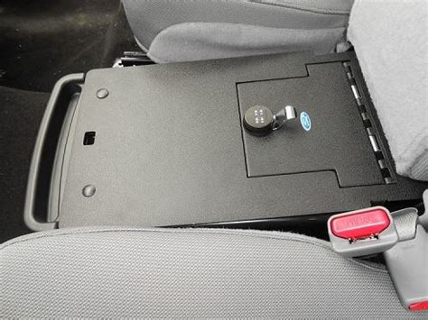 console vault ford    middle seat console