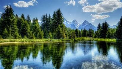 Landscape Wallpapers Amazing Scene Natural Tree Water
