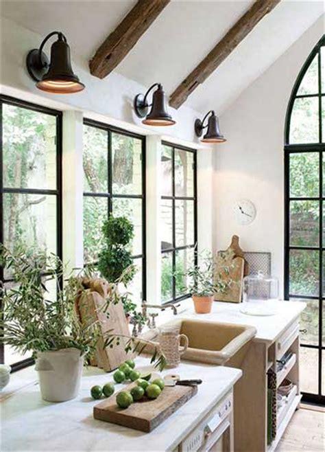 cuisine de jardin en cuisine verrière 12 cuisines lumineuses ouvertes sur le