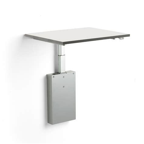 eldrivet arbetsbord vaegghaengt  mm maxlast  kg