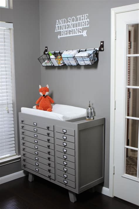 how to make a changing table baby changing table diy build gray house studio