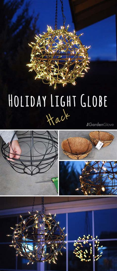 diy ideas  string lights