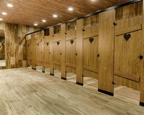 ironwood manufacturing headrail braced restroom partition