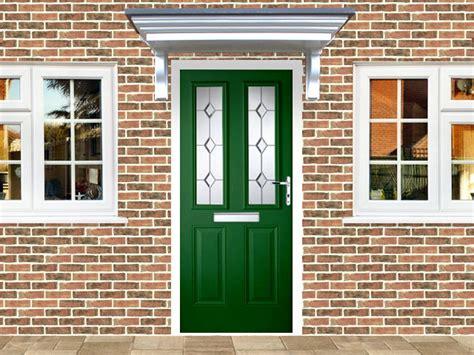 victorian left hand green composite front door flying doors