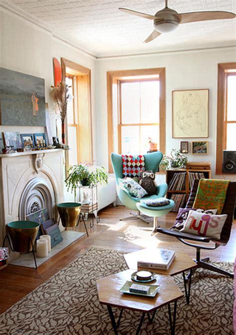 sleek  colourful retro interior design ideas decorology