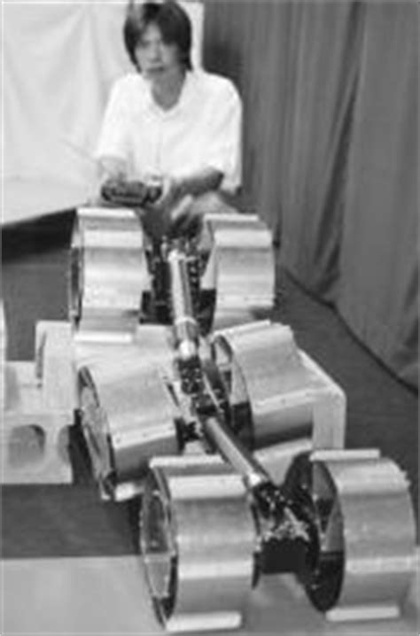 WHEELED ROBOTS AND LUNAR CARS