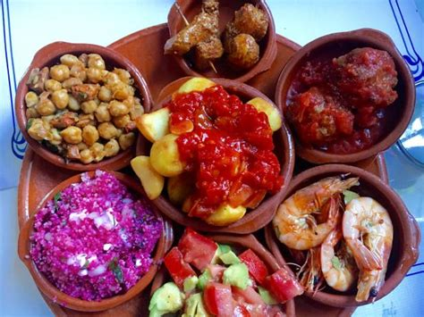 andalusia spain tapas food local eat drink travel