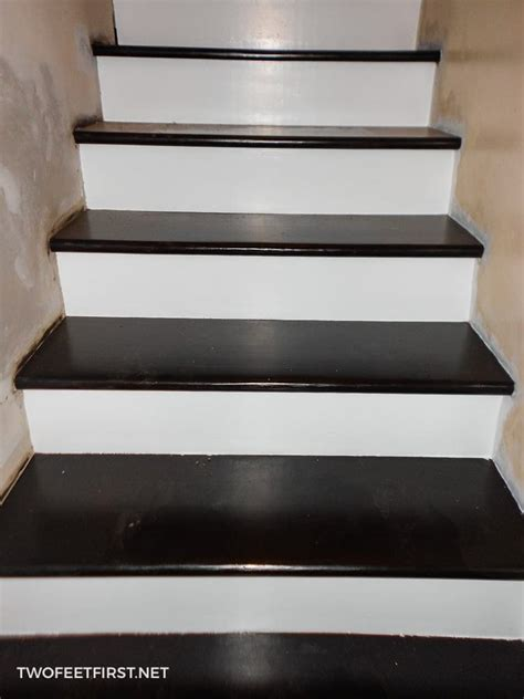 remodel stairs  carpet  wood  full process