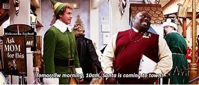 Elf Christmas Quotes Buddy Gifs Santa Ferrell