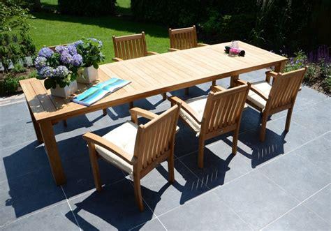 Gartentisch Noor Von Traditional Teak Holzdesignpur