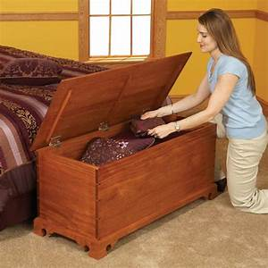Blanket Chest Woodworking Plan from WOOD Magazine