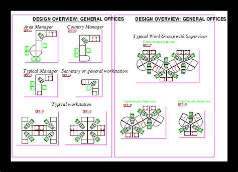 office workstation dwg block  autocad designs cad
