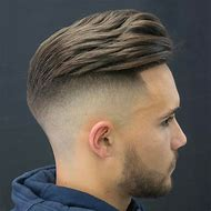 Undercut Haircut Men Fade