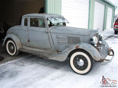 plymouth pe deluxe  window coupe   dodge